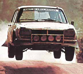504 Rallye, The Bandama 1975