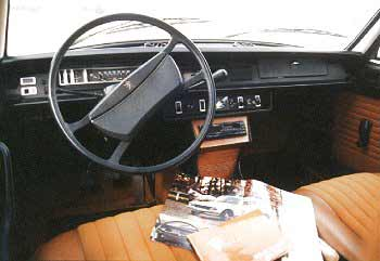 comfortable interior with full instrumentation (this is the basic model!)