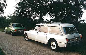 Citroen ID Break & Peugeot 504 L - get me a time-machine