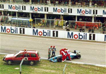 Bad luck for sympathetic Alex Wurz